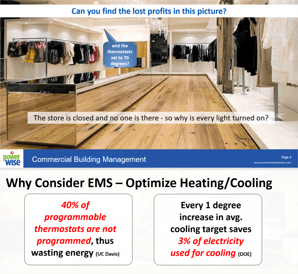 Optimize Heating and Cooling with Power Wise