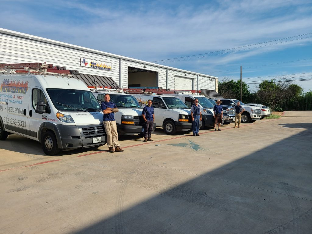 Pro Refrigeration Shop and Crew
